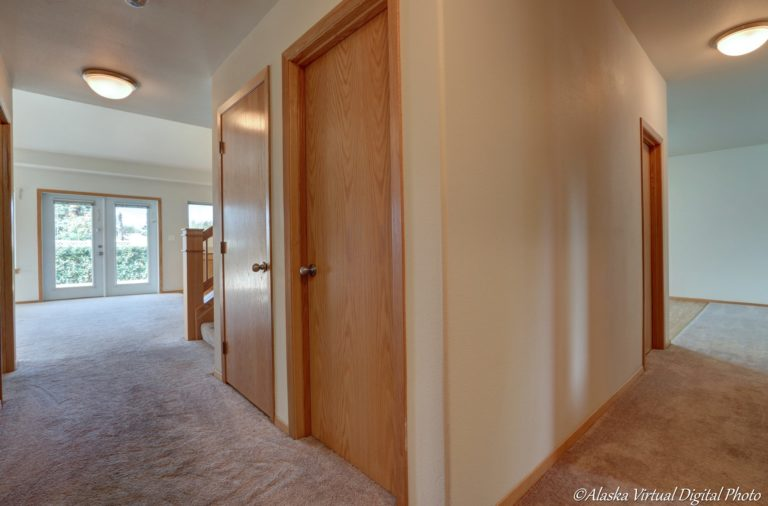 Entry area with spacious closets