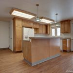 open concept kitchen island