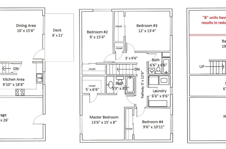 Image of floorplan with room dimensions