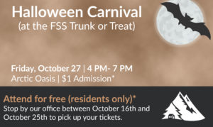 flyer for halloween carnival