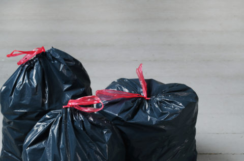Photo of trash bags