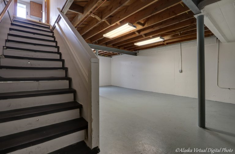 Photo of Basement looking up stairs