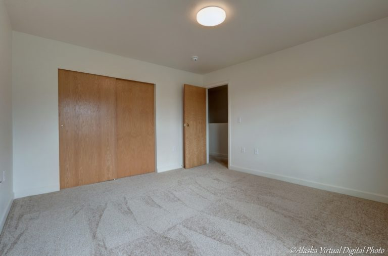 Photo of closets in bedroom