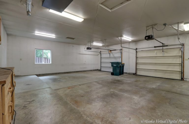 Photo of two car garage