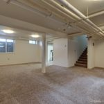 Photo of Carpeted basement