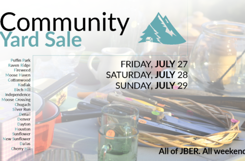 Community Yard Sale Dates