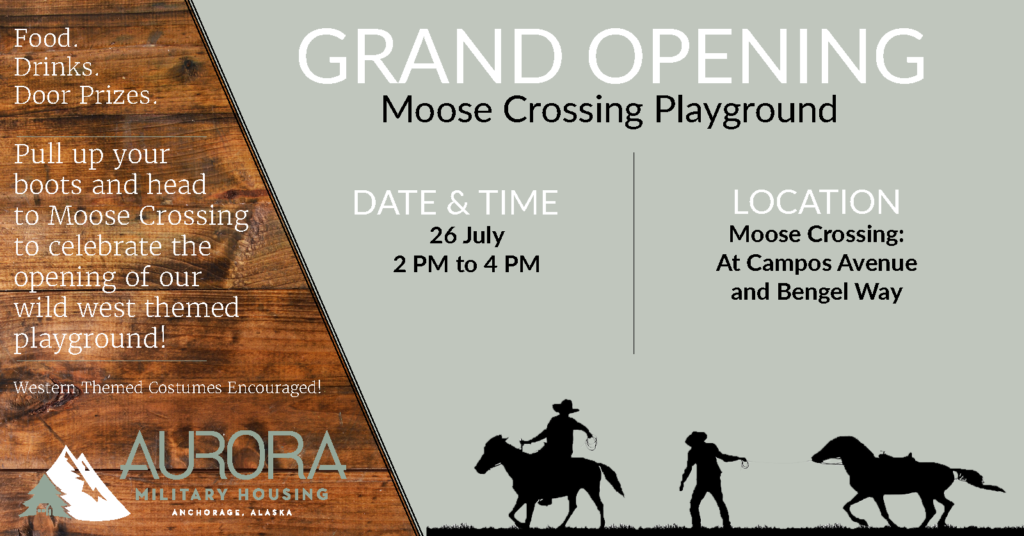 Moose Crossing Playground Flyer