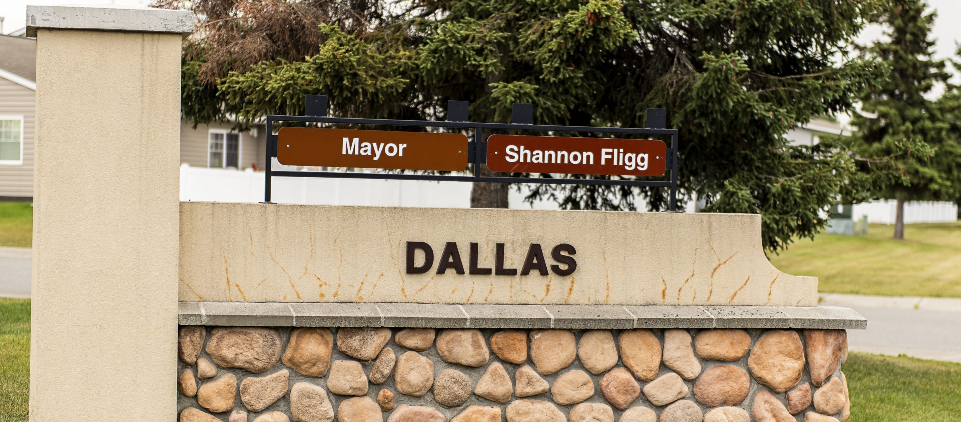 Dallas Monument Sign