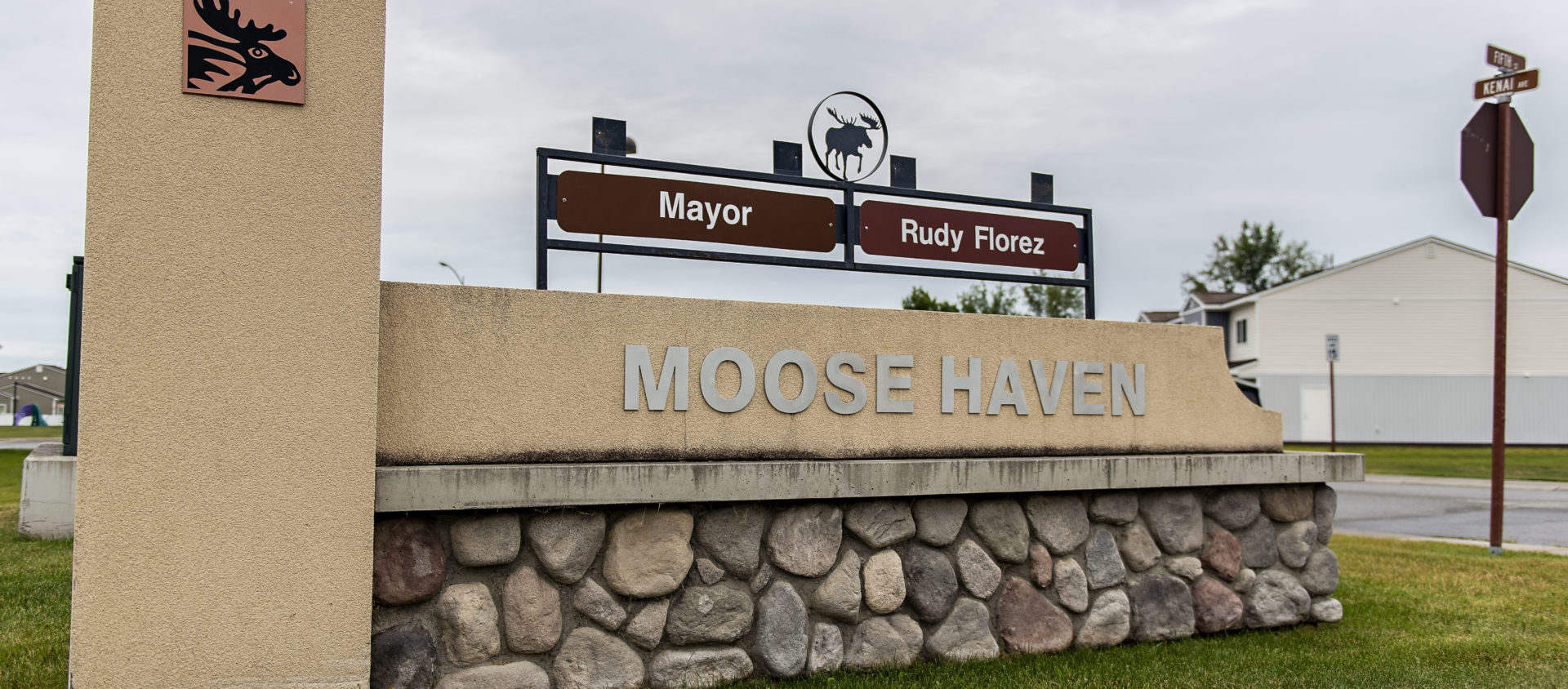 Moose Haven Monument Sign